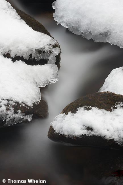 1 Snowy stream